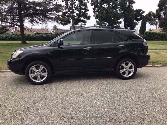Picture of Used 2008 Lexus Hybrid SUV RX-400H 2WD Black